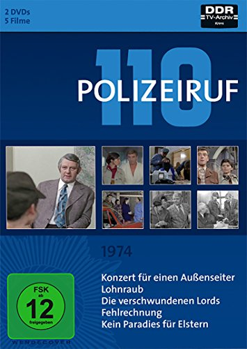 Polizeiruf 110 Box 3: 1974 (2 DVDs)