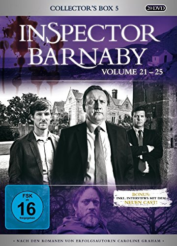 Inspector Barnaby Collector's Box 5, Vol. 21-25 (20 DVDs)