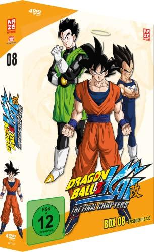 Dragonball Z Kai Box  8 (Episoden 115-133) (4 DVDs)