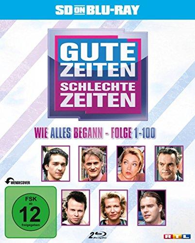 Gute Zeiten, schlechte Zeiten Wie alles begann, Vol. 1: Folge 1-100 [SD on Blu-ray]