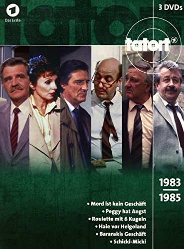 Tatort 80er Box, Vol. 2 (1983-1985) (3 DVDs)