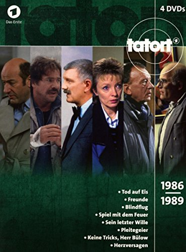 Tatort 80er Box, Vol. 3 (1986-1989) (4 DVDs)