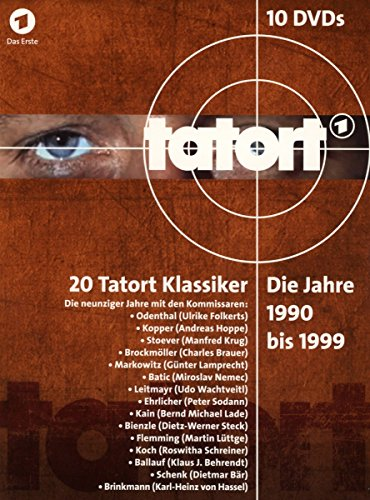 Tatort 80er Box Komplett (1980-1989) (10 DVDs)