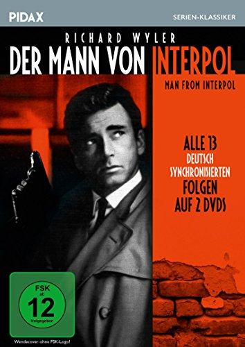 Der Mann von Interpol 2 DVDs