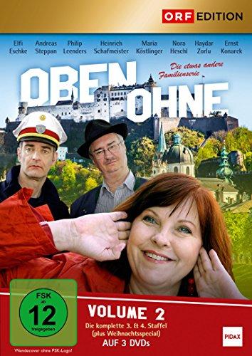 Oben ohne, Vol. 2: Staffel 3+4 + Weihnachtsspecial (3 DVDs)