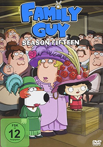 Family Guy Season 15 (3 DVDs)