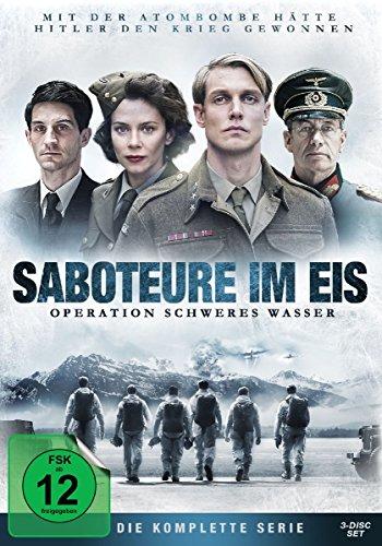 Saboteure im Eis - Operation Schweres Wasser 3 DVDs