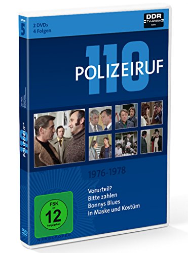 Polizeiruf 110 Box 5: 1976-1978 (2 DVDs)