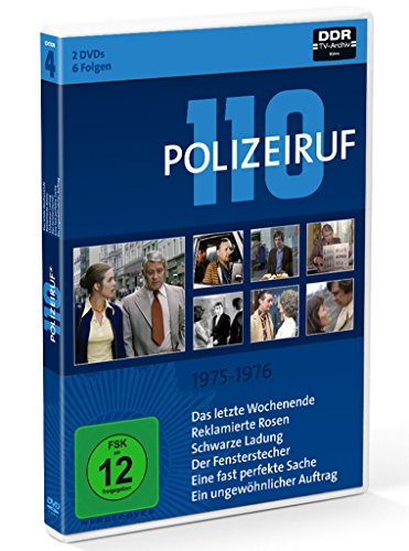 Polizeiruf 110 Box 4: 1975-1976 (2 DVDs)