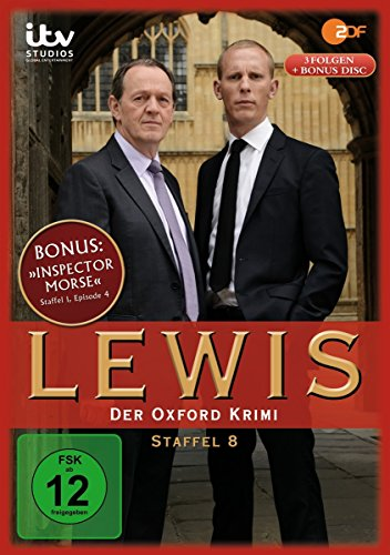 Lewis - Der Oxford Krimi Staffel 8 (4 DVDs)