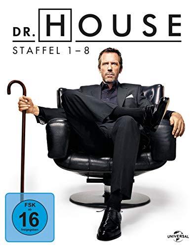 Dr. House Die komplette Serie (exklusiv bei Amazon.de) [Blu-ray]