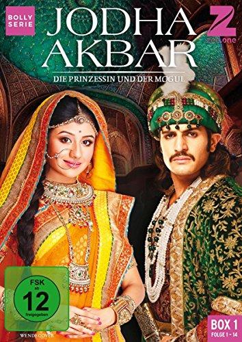 Jodha Akbar Die Prinzessin und der Mogul - Box 1 (Folge 1-14) (3 DVDs)