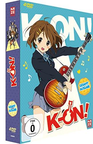 K-ON! Staffel 1 (4 DVDs)