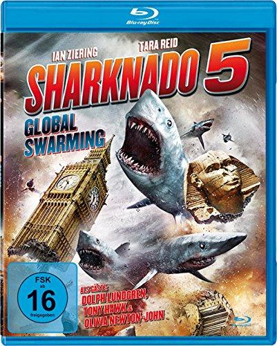 Sharknado 5 - Global Swarming (Uncut) [Blu-ray]