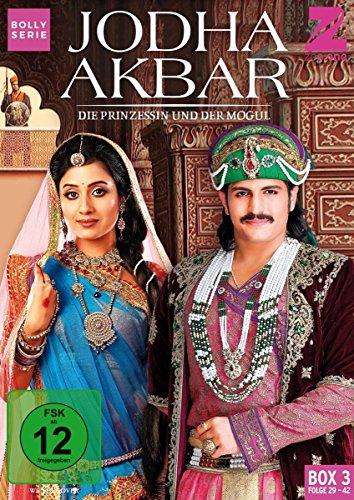 Jodha Akbar Die Prinzessin und der Mogul - Box  3 (Folge 29-42) (3 DVDs)