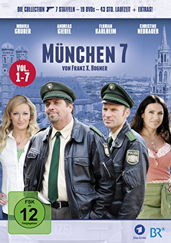 München 7 Staffel 1-7 Collection (19 DVDs)