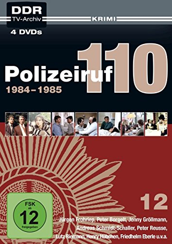 Polizeiruf 110 Box 12: 1984-1985 (DDR TV-Archiv) (Softbox) (4 DVDs)