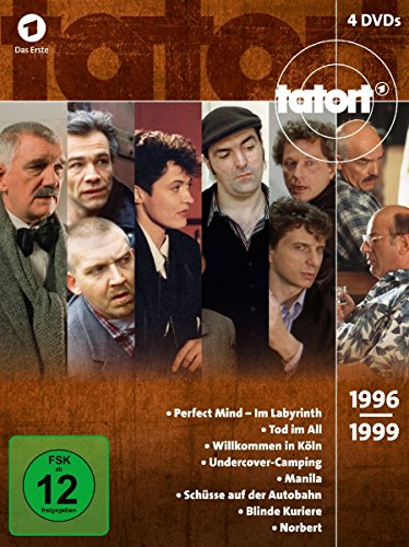 Tatort 90er Box, Vol. 3 (1996-1999) (4 DVDs)