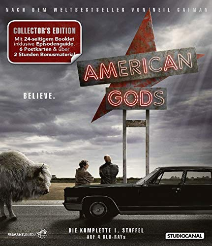 American Gods Staffel 1 (Collector's Edition) [Blu-ray]