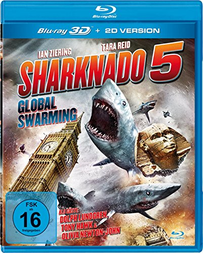 Sharknado 5 - Global Swarming (Uncut) [3D Blu-ray]