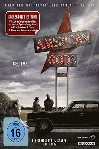 American Gods Staffel 1 (Collector's Edition) (4 DVDs)