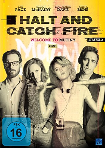 Halt and Catch Fire Staffel 2 (4 DVDs)