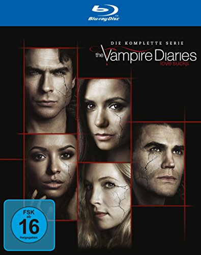 The Vampire Diaries Staffeln 1-8 [Blu-ray]