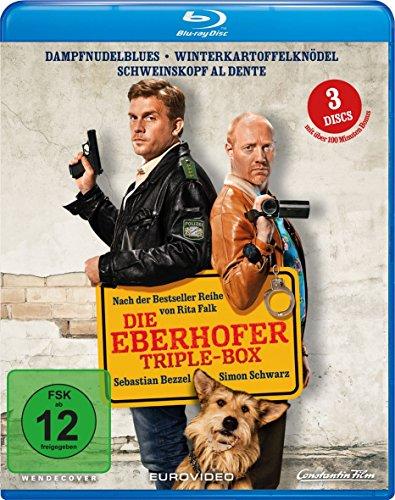 Eberhofer Triple Box (Dampfnudelblues + Winterkartoffelknödel + Schweinskopf al dente) [Blu-ray]