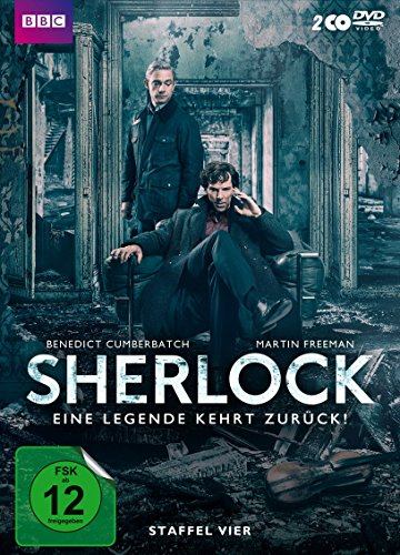 Sherlock Staffel 4 (Limited Edition) (exklusiv bei Amazon.de) (2 DVDs)