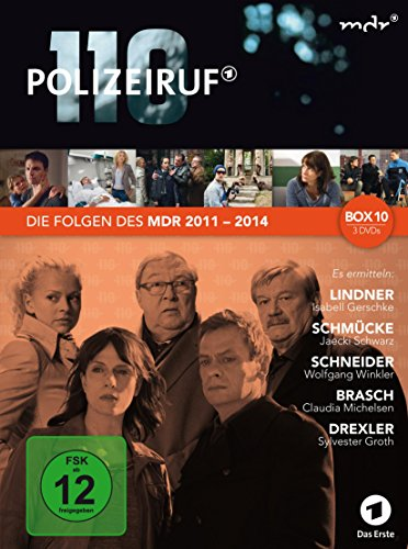 Polizeiruf 110 MDR-Box 10 (3 DVDs)