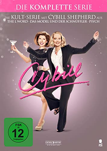 Cybill Staffel 1-4 (15 DVDs)