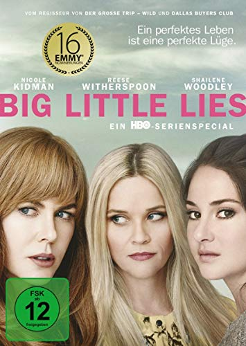 Big Little Lies 3 DVDs