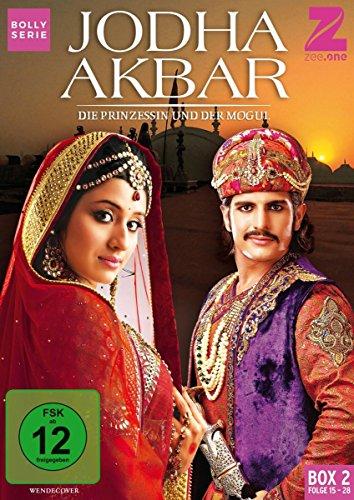 Jodha Akbar Die Prinzessin und der Mogul - Box 2 (Folge 15-28) (3 DVDs)