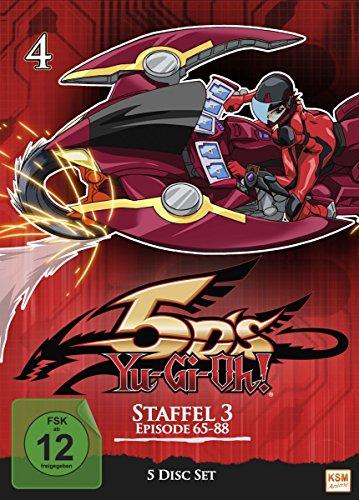 Yu-Gi-Oh! 5D's Staffel 3.1 (Episode 65-88) (5 DVDs)