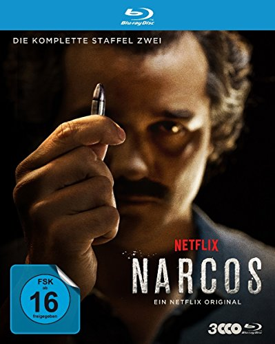 Narcos Staffel 2 [Blu-ray]