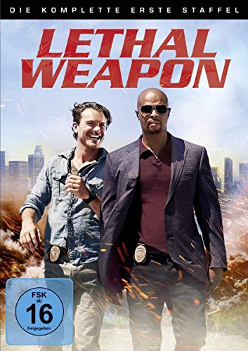 Lethal Weapon Staffel 1 (4 DVDs)