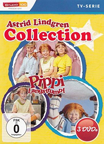 Astrid Lindgren Collection: Pippi Langstrumpf (3 DVDs)