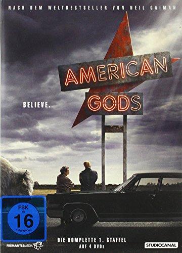 American Gods Staffel 1 (4 DVDs)