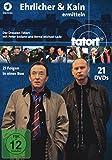 Tatort Dresden - Ehrlicher & Kain ermitteln (21 DVDs)