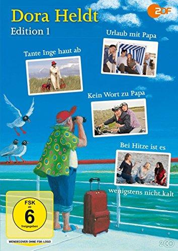 Dora Heldt: Urlaub mit Papa / Tante Inge haut ab / Kein Wort zu Papa / Bei Hitze ist es wenigstens nicht kalt (2 DVDs)