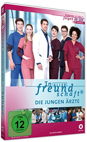 In aller Freundschaft - Die jungen Ärzte: Staffel 3.1 (Folgen 85-105) (7 DVDs)