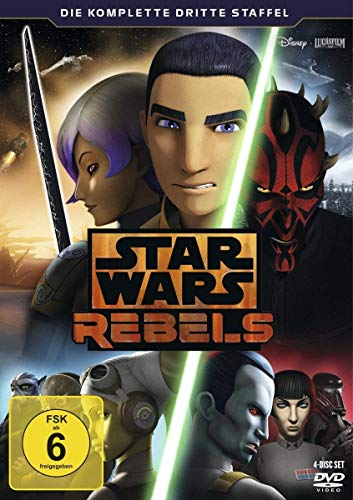 Star Wars Rebels Staffel 3 (4 DVDs)