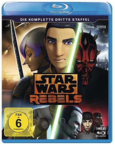 Star Wars Rebels Staffel 3 [Blu-ray]