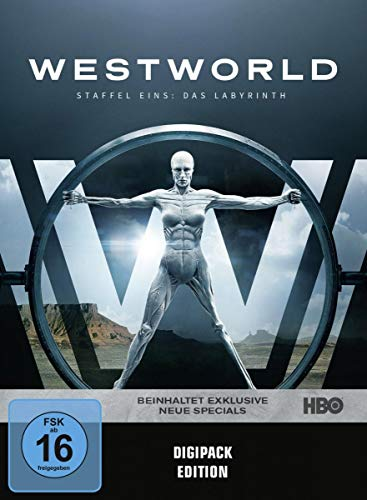 Westworld Staffel 1: Das Labyrinth (3 DVDs)