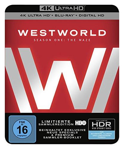 Westworld Staffel 1: Das Labyrinth [4K Ultra HD + Blu-ray]