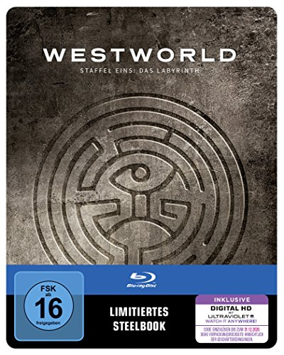 Westworld Staffel 1: Das Labyrinth (Limited Steelbook Edition) (exklusiv bei Amazon.de) [Blu-ray]
