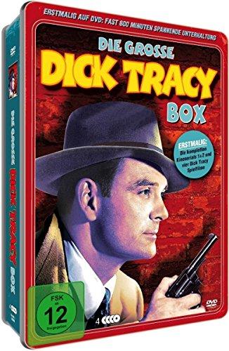 Dick Tracy Deluxe Metallbox (4 DVDs)