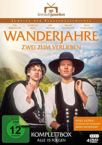 Wanderjahre Zwei zum Verlieben (4 DVDs)