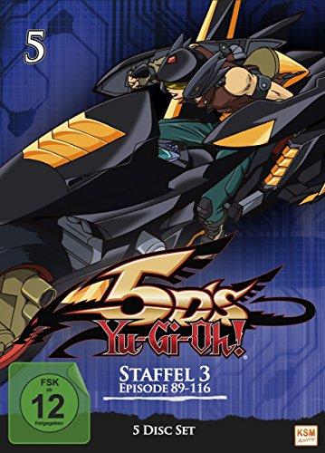 Yu-Gi-Oh! 5D's Staffel 3.2 (Episoden 89-116) (5 DVDs)