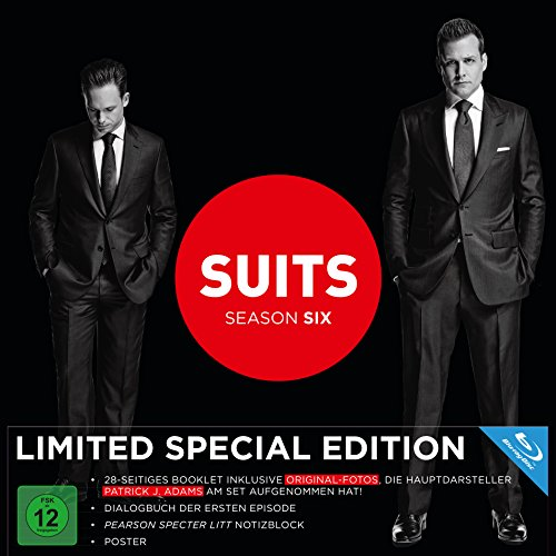 Suits Staffel 6 (Limited Fan-Edition) [Blu-ray]